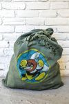 Vintage WWII Hand Painted Military Laundry Bag by angelsd