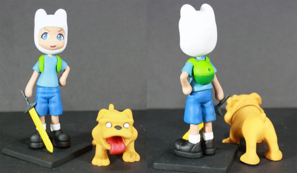 Finn and Jake Pinky Street by kodykoala
