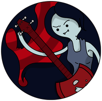Marceline Pin Design by Makksim