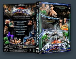 -WRESTLEMANIA 24 Custom Cover by Hiro-Gfx