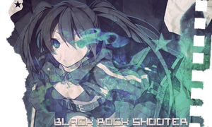 Black Rock Shooter v1 by JamesxpGFX