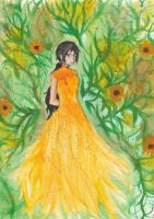 Black Eyed Susan by sakurayamanashi