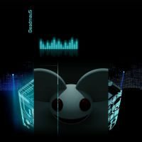 Deadmau5 YouTube Background by XM94