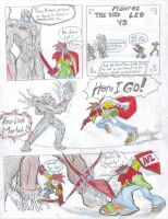 leo vs the void 2 by darkdancing-blades