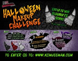 HALLOWEEN MAKEUP CHALLENGE by KCMussman