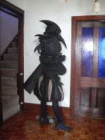Plague Doctor Armour Back by Valentine-Borgia