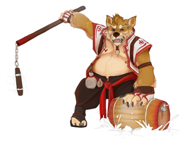 Brewmaster Takun by suchacat