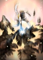 Rin attacks by RivaAnime