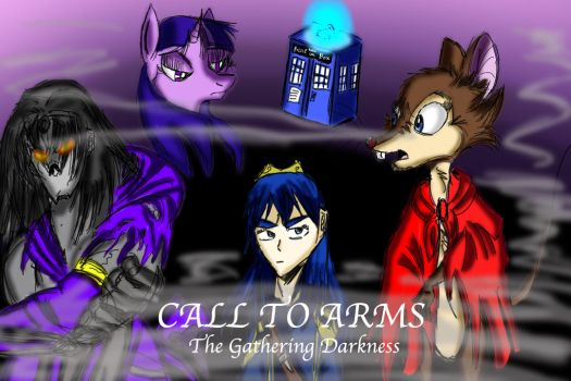 Call to Arms Comic Cover by TheDarkJAvenger