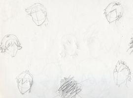 Male Hair styles by Experiment07