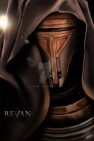 Knights of the Old Republic - Revan Portrait by KPants