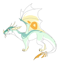 Tropical Dragon Design by MBPanther