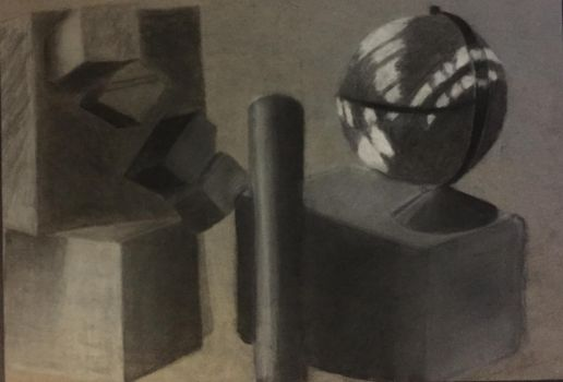 Charcoal Still Life by tink55