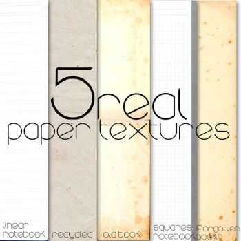 Paper textures by pshelpdesigns