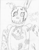 Springtrap Attempt by ifreakinglovegames