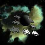 Make a Space Invader in Wings 3D. by davidbrinnen