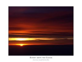 Sunset above the Clouds 2 by dekleene