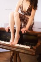 The grand piano by Dina-bv