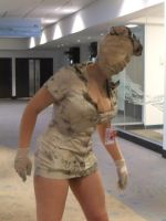 Silent Hill Nurse cosplay 2 by Shiroyuki9