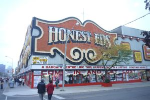 Honest Ed's #1-At Mirvish Lane by Neville6000