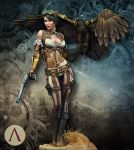 Jessica Thunderhawk by Rodrigo Cipres by newboldworld