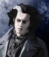 Sweeney Todd Photorealism 2 by AsaRawr