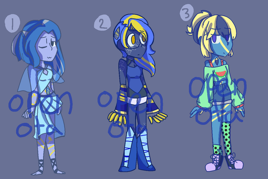 Lapis Adopts (3/3 OPEN) by emilyldraws0303