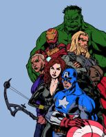 The Avengers by BrokenJoker69