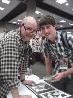 Pic with Mike Mignola by Redcavalier