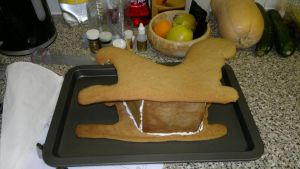 Gingerbread Sled... Out of the oven by Tischen