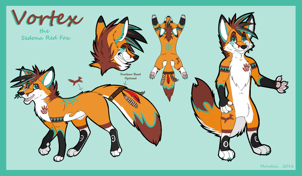 Vortex Red Fox Reference by Mala-kai