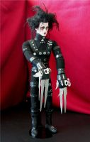 Edward Scissorshands Doll 2 by Vulkanette