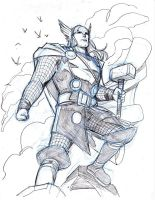 THUNDER GOD by Wieringo