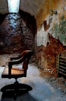 Office Chair in A Cell by PAlisauskas