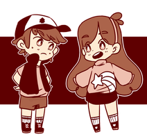 Mystery Twins by MoonsieRoll