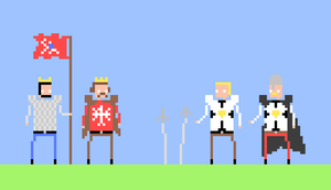 Wladyslaw II, Vytautas and Teutonic Knights by Sevgart