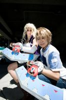 blonde bad asses of yugioh. by JestersLabyrinth