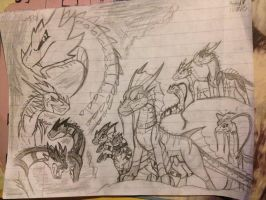 MythicFang arch 2 cover concept updated... by Dinoboy134