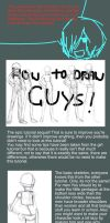 TUTORIAL how to draw guys by pansheetilo