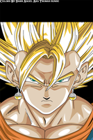 Vegeto SSJ by DarkAngelAmv