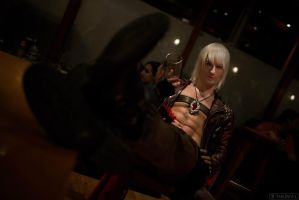 Cheers in the pub from Dante - DMC 3 Cosplay by LeonChiroCosplayArt