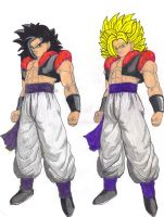 Ultimate Warrior Gokuto by DBZ2010