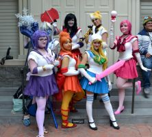katsucon 19-  Sailor Adventure Time by crunchyspart