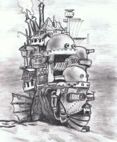 Howls Moving Castle by A-Parliament-Of-Owls