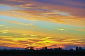 Fire over Illinois by masscreation