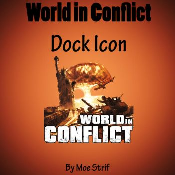 World in Conflict Dock Icon by MoeStrif