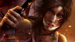 Tomb Raider Wallpaper Crop by Aameeyur