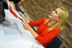 Angela Kinsey from The Office by SublimeBudd