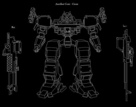Armored Core series_ MS Paint by BrakeVu