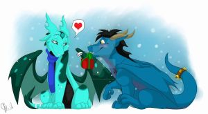 Christmas 1- A gift to the Princess by Inked-Alpha